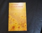 "Vintage ""The Faith of Helen Keller""61 page book - great condition"