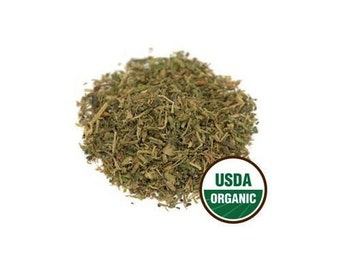 USDA Certified Organic Dried Chickweed Stellaria Media Cut & Sifted 1-16oz