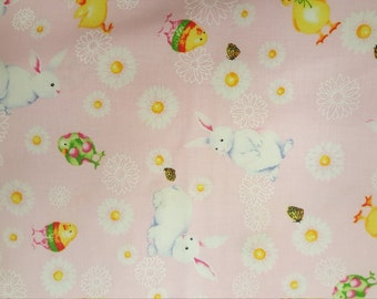 Hoppy Spring by Barb Tourtillotte for Clothworks Textiles