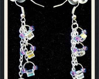 Crystal Beaded Earrings