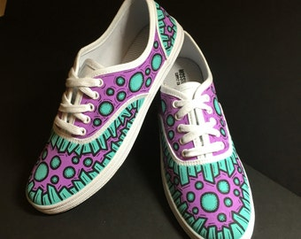 Custom Painted Vans