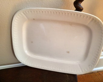 Ironstone Platter
