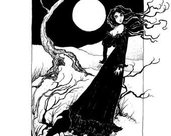 MIDSUMMER MAGIC 30% OFF *** Moss Oak Art Print