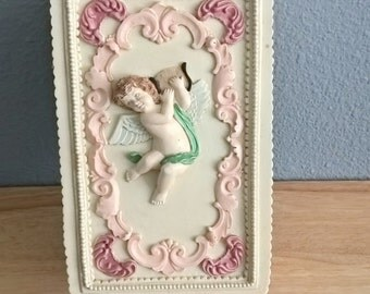 Ceramic Jewelry Box Shabby Chic