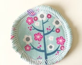 Cherry Blossoms - Menstrual Cup Coaster - Cup Rug - Cup Spot