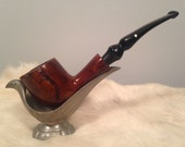 F - This is a vintage Dr. Grabow Free Hand tobacco pipe