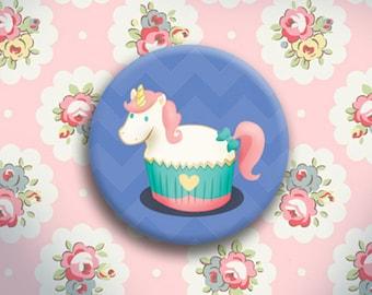 Unicorn Cake Button