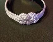 Silver Rope Headband
