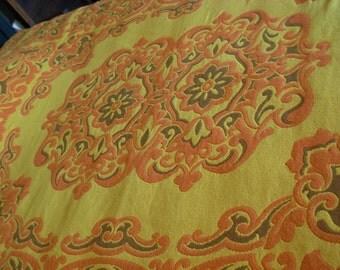 Vintage Boho Italian Bedspread Gypsy Bedding Large and Heavy Great Condition