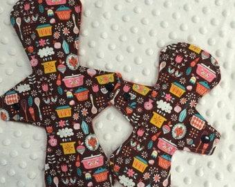 Cotton top cloth pad starter set of 2 - kitchen