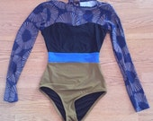 Vintage 50s 60s Reproduction One Piece Swimsuit Bathing Suit Size small Seea Hermosa.