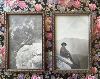 Antique Set of Picture Frame with photo