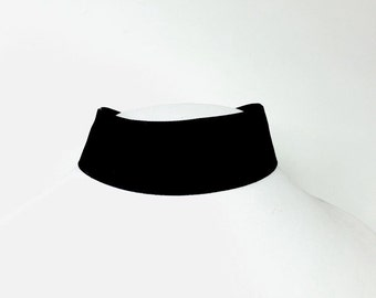 XL Thick Velvet Band Choker