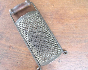Cheese Grater Vintage Rustic Kitchen Farmhouse Decor