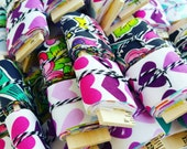handmade fabric tape - wrapping packaging journal scrapbook planner supplies - 4 yard special!