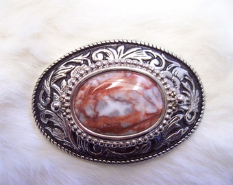 Picaso Stone Belt Buckle