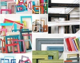 FRAME SALE FRAME Collection Made to Order Perfect for Nursery, Kids Room, Playroom custom frame sets children decor