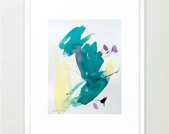 Lavender, 2016 - Original Watercolour Artwork