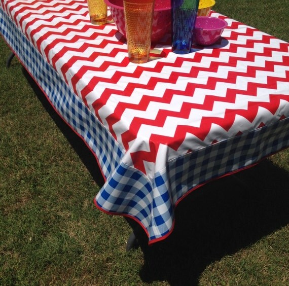 90 X 47 5 Oil Cloth Tablecloth Rectangle Red