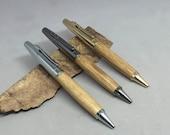 Bourbon Barrel Oak Anaheim Pen - made from your choice of flavor bourbon barrel oak and color hardware