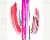 Cactus Art. Cacti Art. Cactus Watercolor Art. Arizona Art. Botanical Painting. Desert Watercolor. Desert Art. Saguaro Cactus. Saguaro cacti