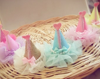Princess Party hat clip