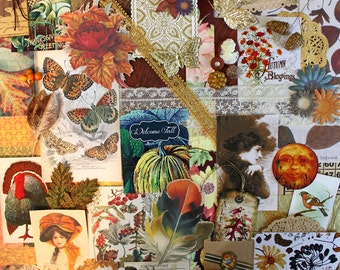 Autumn Glow*Fall Inspiration Kit*Fall Scrapbooking Paper Pack