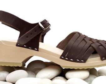 Cloudberry's Camilla Swedish Clog Sandals