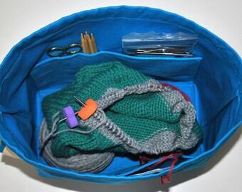 Drawstring Knitting Bag