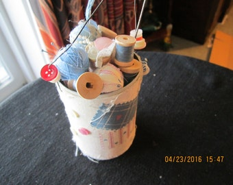 Sewing Decorative Tin