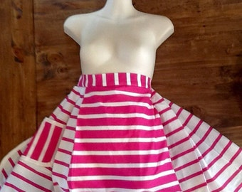 Candy girl vintage apron
