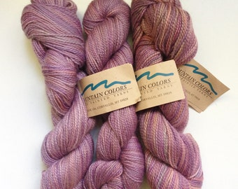 40% Off Mountain Colors Mountain Goat Mohair Wool LadySlipper Worsted