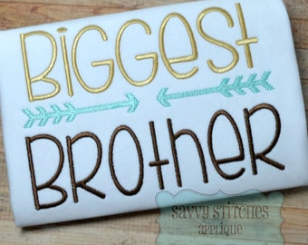 Biggest Brother Machine Embroidery Design