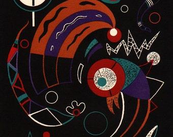 "Kandinsky, ""Comet""  1938 Lithograph, Verve"