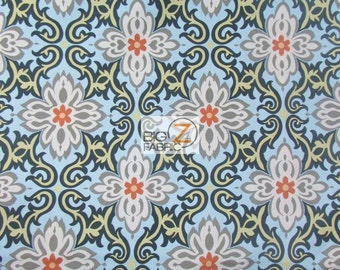 Quatrefoil Floral Lotus By Rowan Fabrics 100% Cotton Fabric - Sold By The Yard (FH-2158)