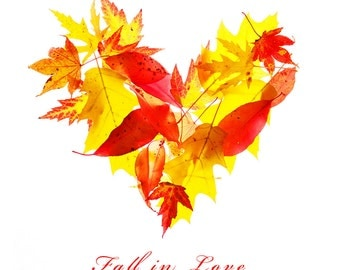 Fall in Love - Photography Print