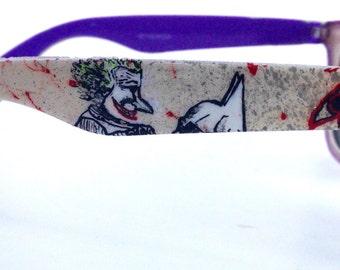 Batman Joker Custom Painted Shades