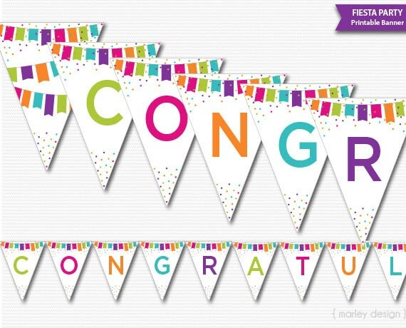 Superb image regarding congratulations banner free printable