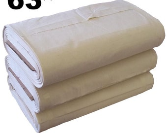 """63"""" Cotton Canvas - 25 Meter Full Roll"""