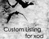Custom Listing for xod