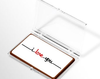 I Love You Chocolate (Pack of 6)