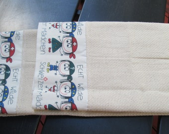 SWISS Tea towel set from Switzerland  Echt Wilde Never used towels Ships Free to continental USA