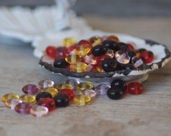 Czech Glass Beads Mix - Czech Beads - Glass Beads - Bead Mix - Bohemian - Jewelrymaking - Jewelry Supplies - Beadwork