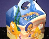 12ct Bubble guppies inspired mini gable boxes