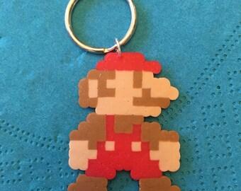 Super Mario Bros Inspired 8-Bit Keychain