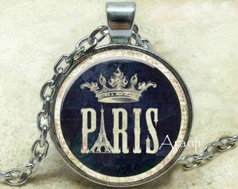 Paris art pendant, Paris necklace, Paris pendant, Paris jewelry Pendant #SP151P