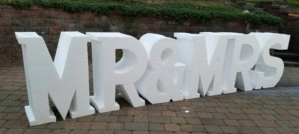large foam letters - oversized - 83.6KB