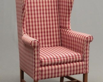 SOLD Wing Chair