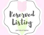 Marina Dierenfeldt Reserved Listing