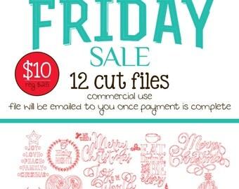 Black Friday Sale - Christmas Cut Files